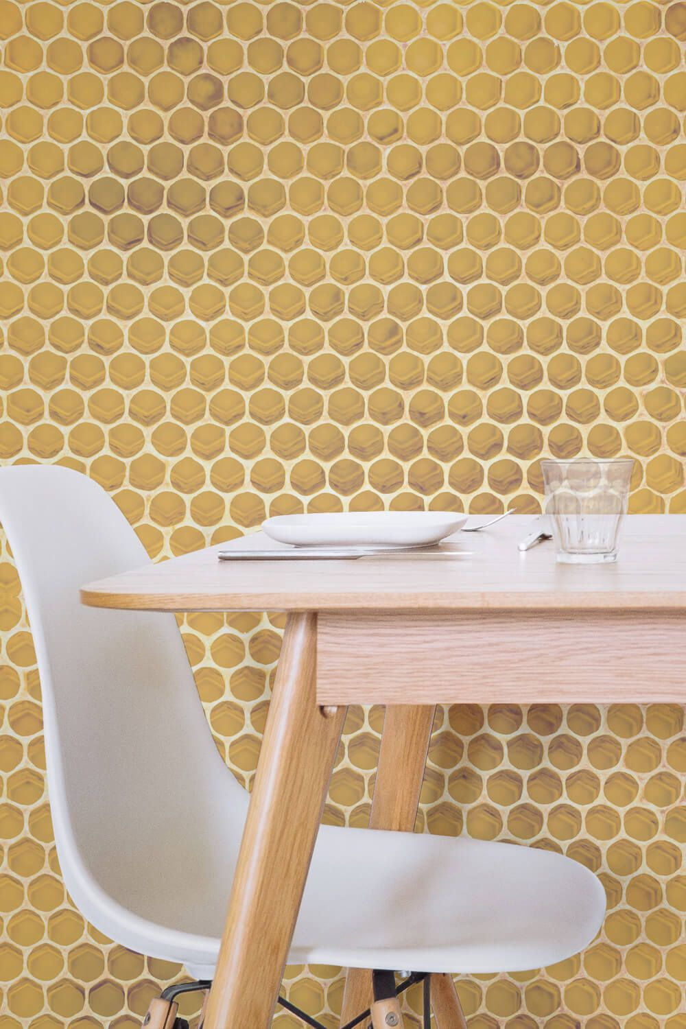 kitchen wallpaper texture gold the bright golden yellows will bring cheer into your home perfect for accent walls especially in the kitchen this honeycomb texture wallpaper honeycomb texture wallpaper mural murals