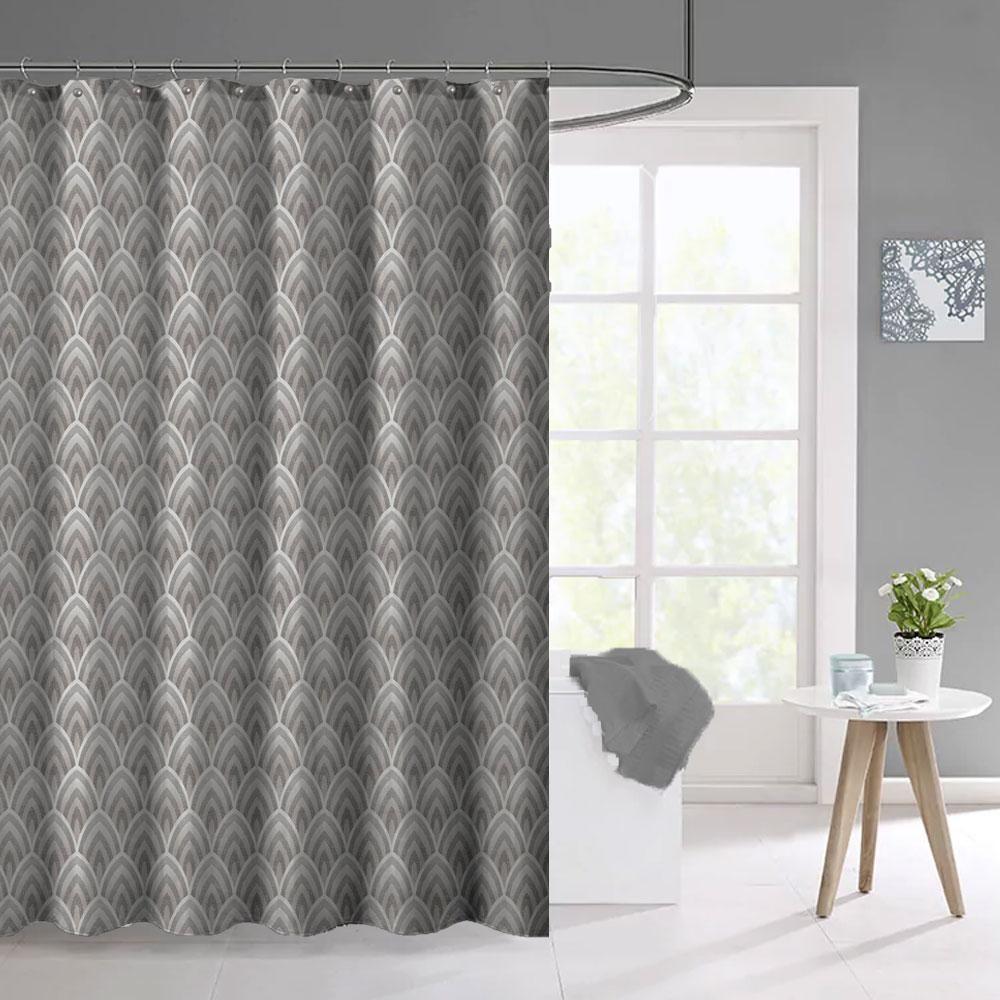 Deco Fabric Shower Curtain Fabric Shower Curtains Bathroom