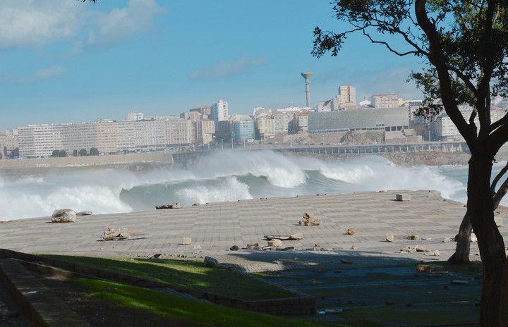 Fotos de Temporal A Coruña