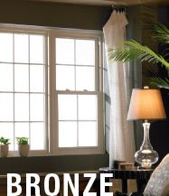 Simonton Prism Bronze windows combine the looked-for features with classic influences for long-lasting beauty.  Exclusively available from Norandex Building Materials Distribution Company, Inc. Visit www.norandex.simonton.com for more information.
