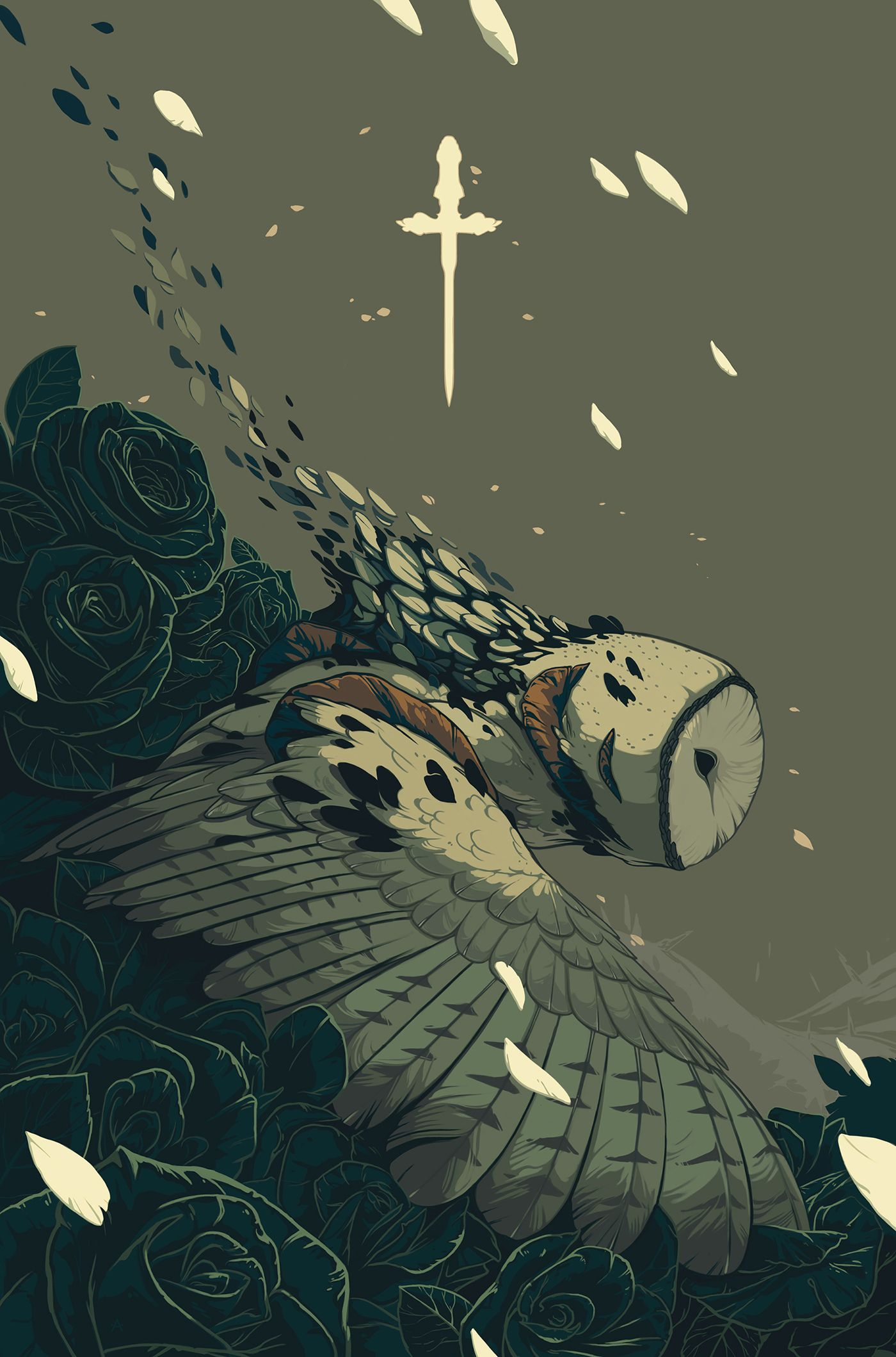 Purge by Alex Dos Diaz #illustration #owl