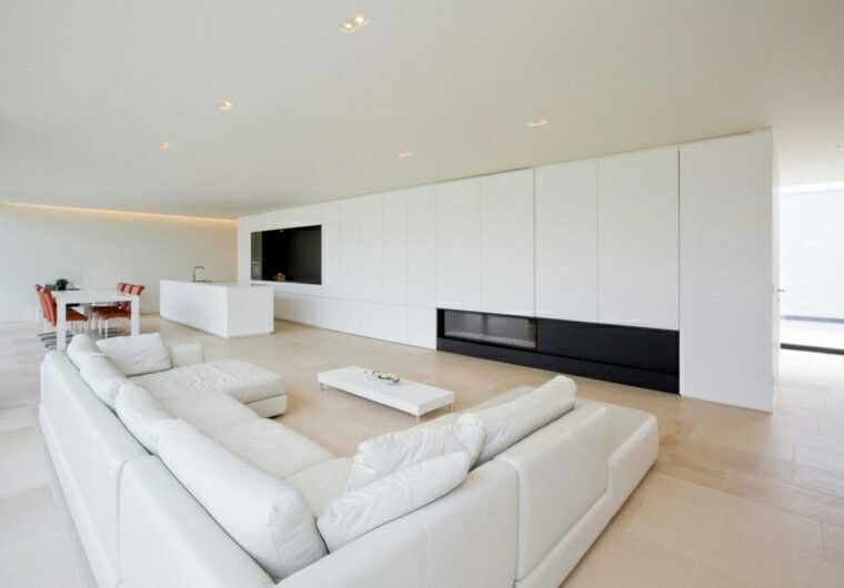 Sala de estar comedor minimalista estilo minimal for Diseno de interiores sala de estar comedor
