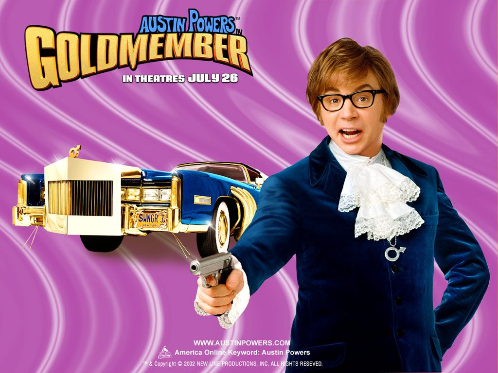 Background Of Movies Free Desktop Wallpapers Free Photo Poscards Austin Powers Goldmember Austin Powers Hollywood Comedy Movies