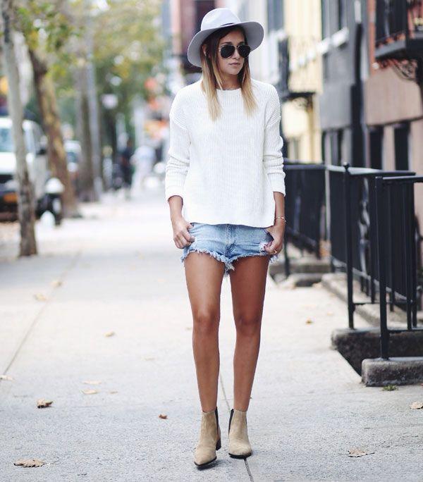 Uma das maneiras menos óbvias de usar um chapéu, é em um look super básico, de jeans e t-shirt/suéter. Além de sair da mesmice, seu look ganha (muito) estilo em um passo!