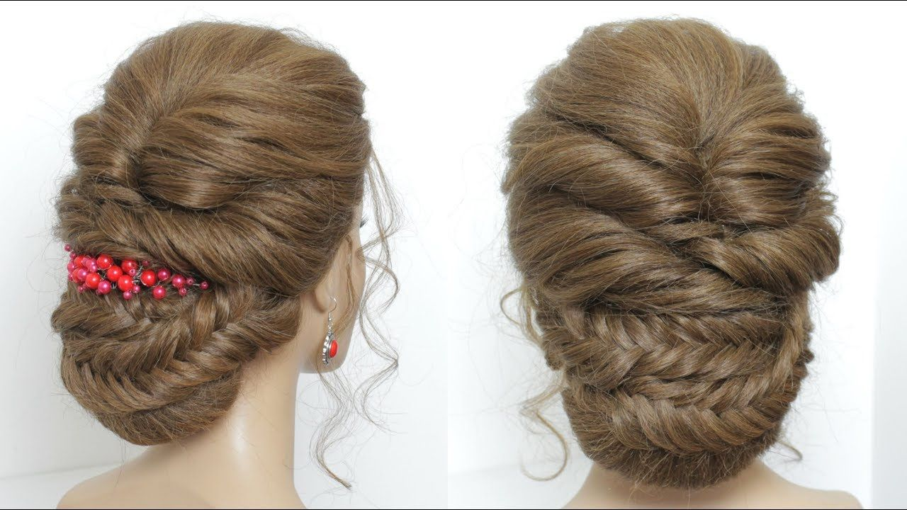 new perfect party hairstyle for long hair tutorial | hair in