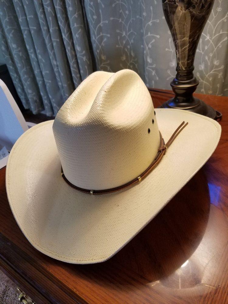 5f42e2abc9d9d mens 7 3 8 Serratelli 10X Team Roper Straw hat  fashion  clothing  shoes   accessories  mensaccessories  hats (ebay link)