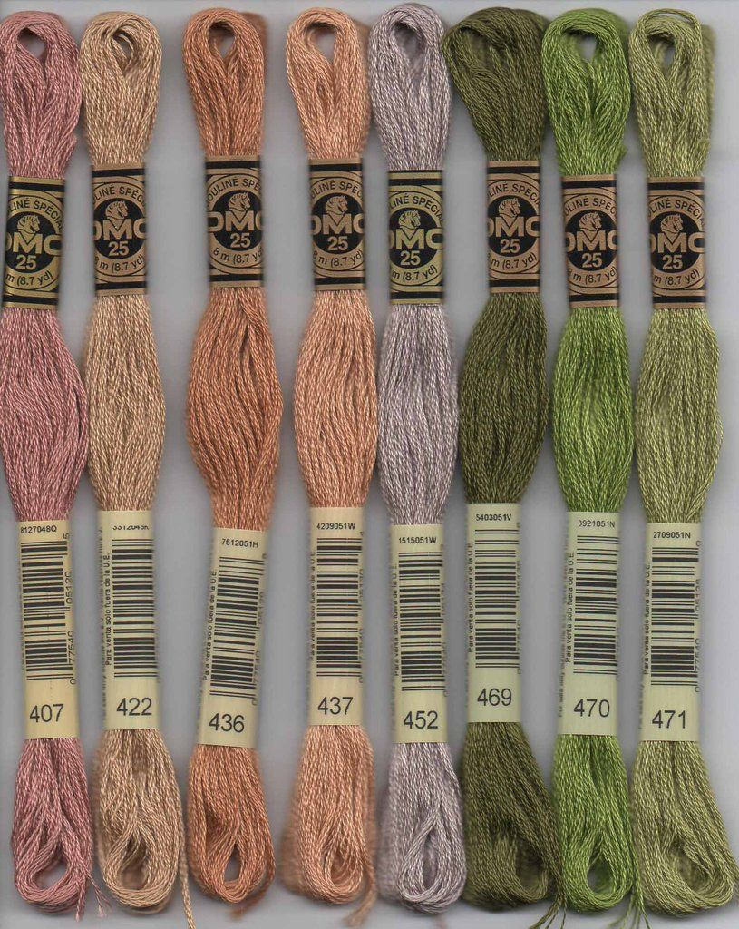Dmc Embroidery Floss 400 Series Embroidery Pinterest