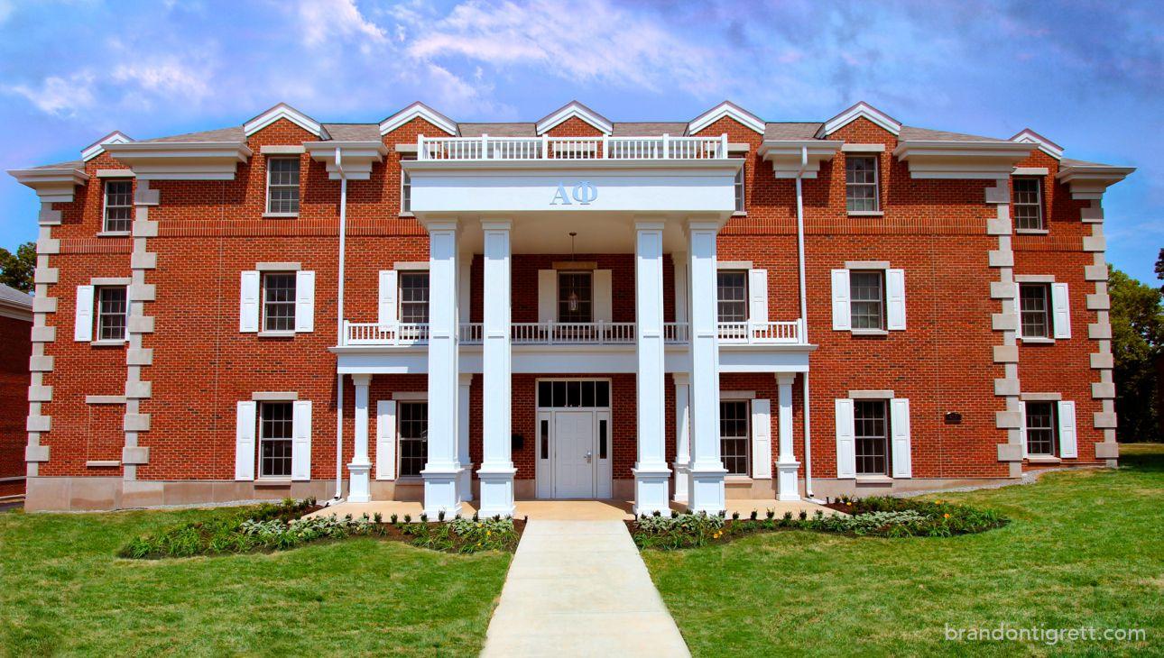 The University Of Kentucky And: The Brand New Alpha Phi House! Iota Nu University Of