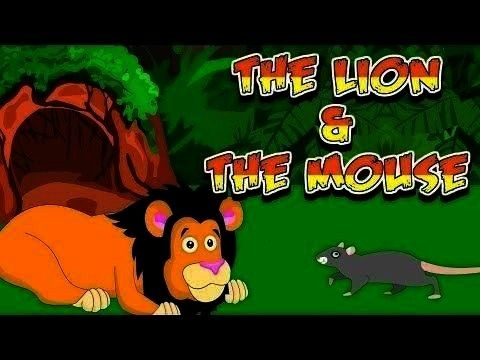 the Mouse Story in Englisch | Kleine Moral ... - -Bildungsvideos: Lion and the Mouse Story in Engli