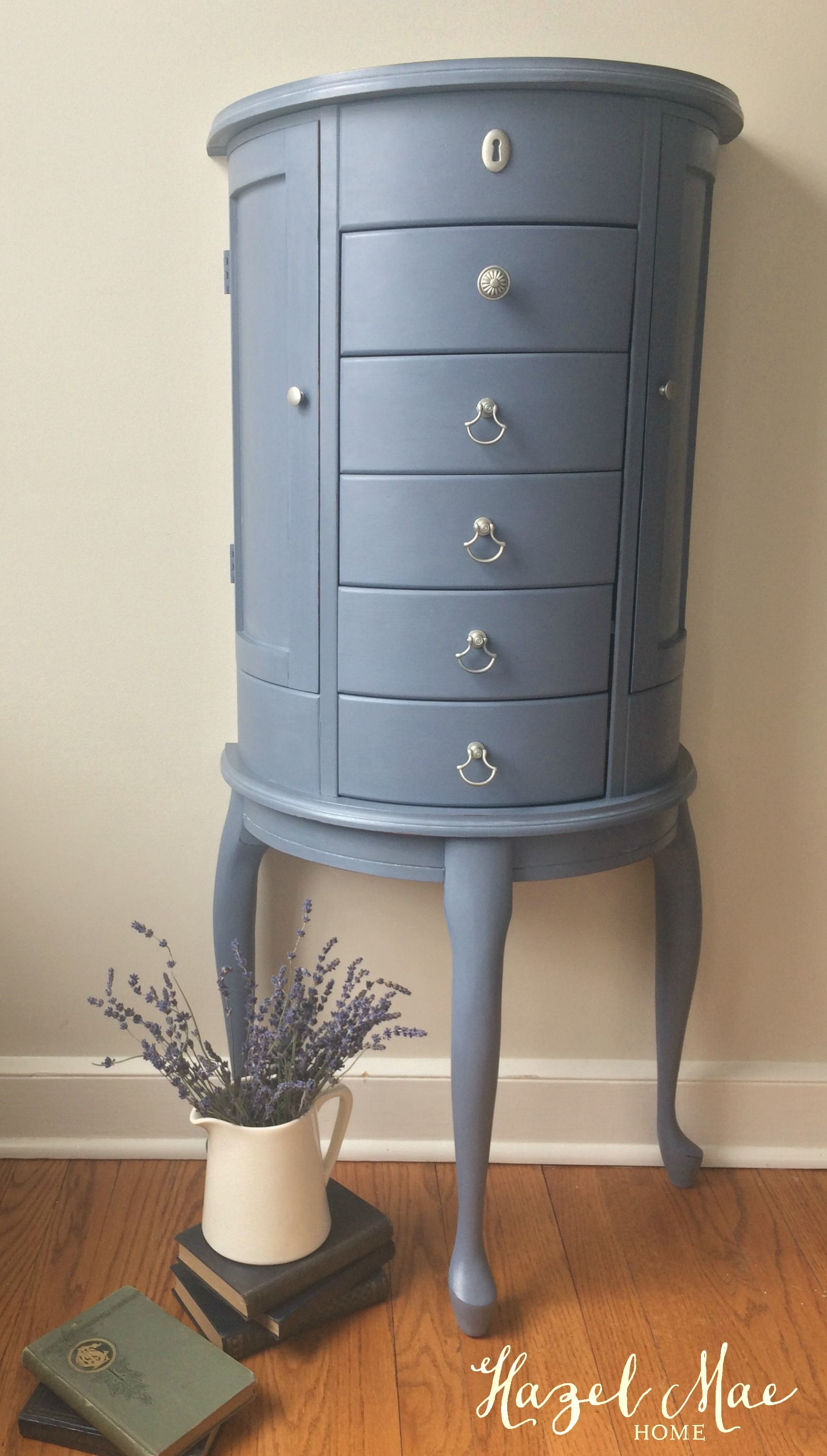 Annie Sloan Old Violet Jewelry Cabinet by