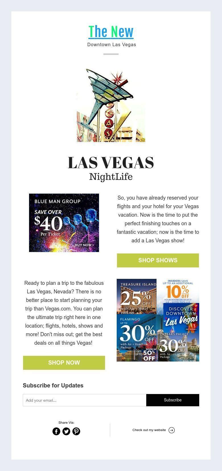 The New Downtown Las Vegas