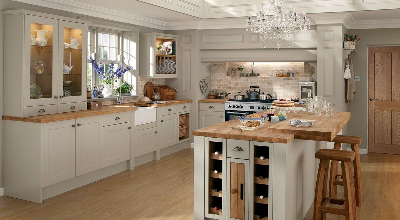Cuisine Gris Clair montfort gris mat   cuisines design, renovation cuisine, sol
