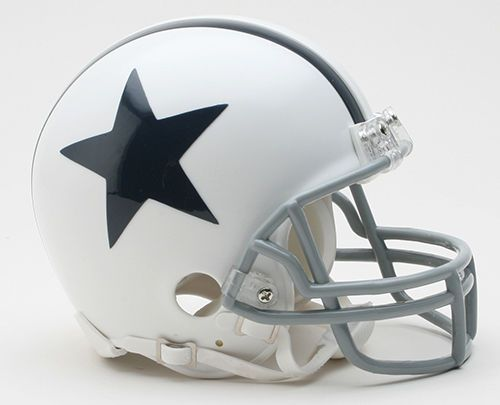 DALLAS COWBOYS 2004 THROWBACK MINI FOOTBALL HELMET #DallasCowboys