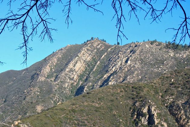 The Tunnel Trail gives hikers a view of La Cumbre Peak.