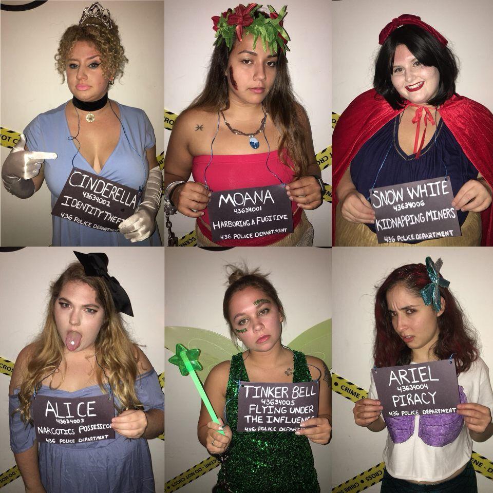 Disney Villain Halloween Costumes Diy.Halloween Costume Diy Princess Disney Mugshot Cinderella