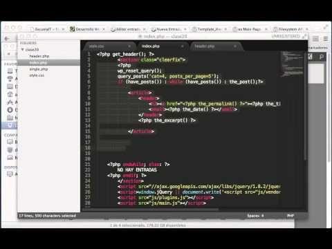 El sistema de archivos de #Wordpress y cómo se organiza el código al ...