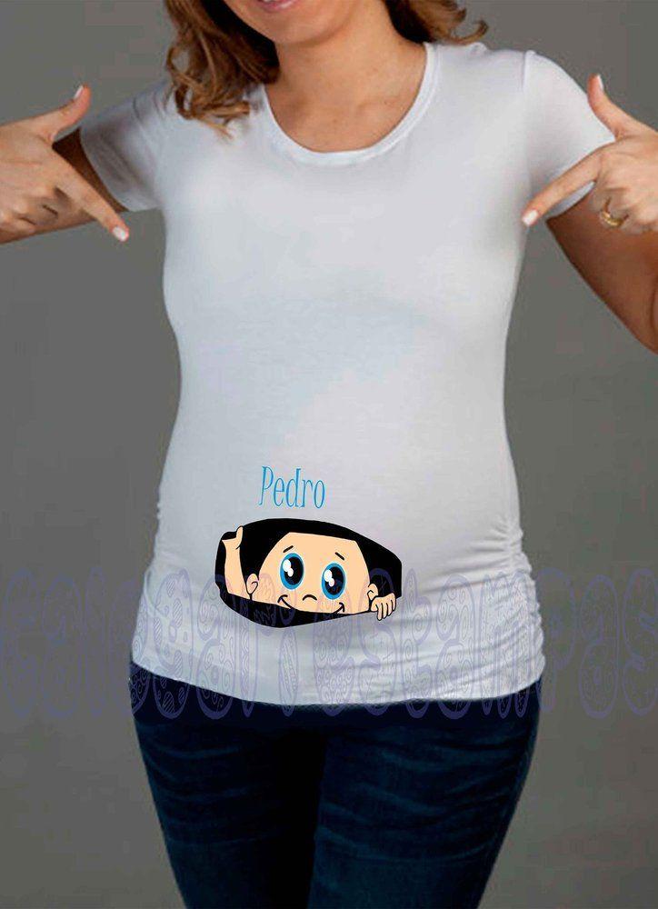 311a77834d Camisetas gestante