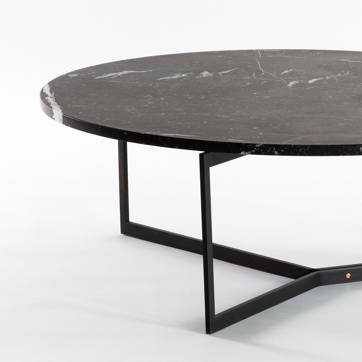 At14 Round Coffee Table With Sleek Steel Base Available In A Variety Of Tops Including Marble And Solid Hardwood Sho Coffee Table Table Round Coffee Table [ jpg ]