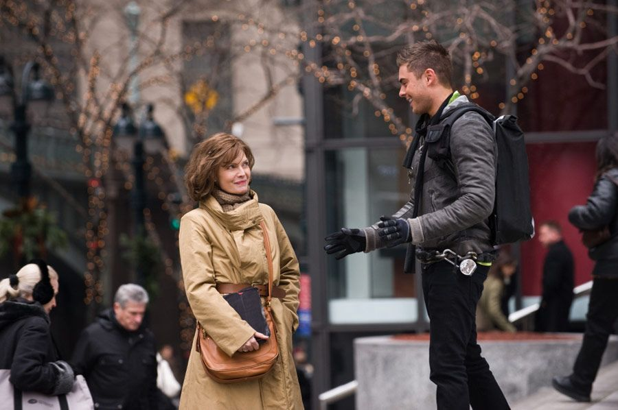 Zac Efron And Michelle Pfeiffer As Paul And Ingrid A Young Man