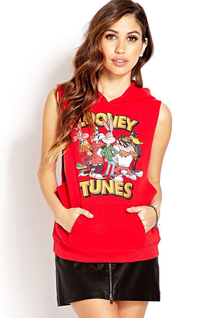 26d7af53319591 Looney Tunes Sleeveless Sweatshirt