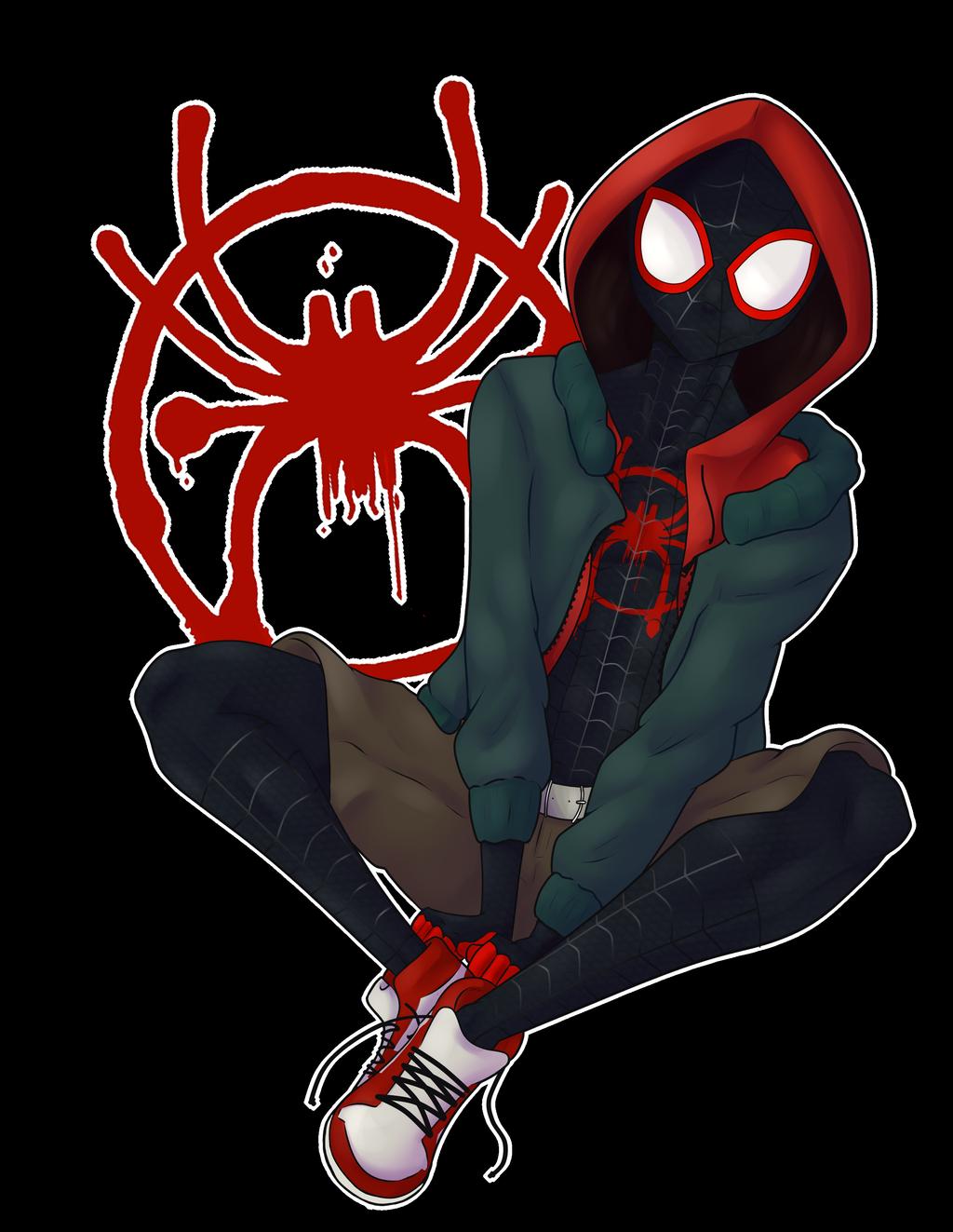 Miles Morales Fanart By Poppytsun On Deviantart Marvel Spiderman Art Spiderman Art Spiderman Artwork