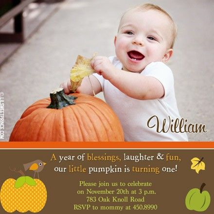 Google image result for httplilsweetprincemediacatalog babys first birthday fall theme filmwisefo Image collections