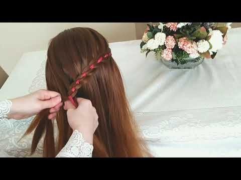 أجمل تسريحة لضفيرة الرباعية رح تحبوها Youtube Beauty Hair Hair Styles