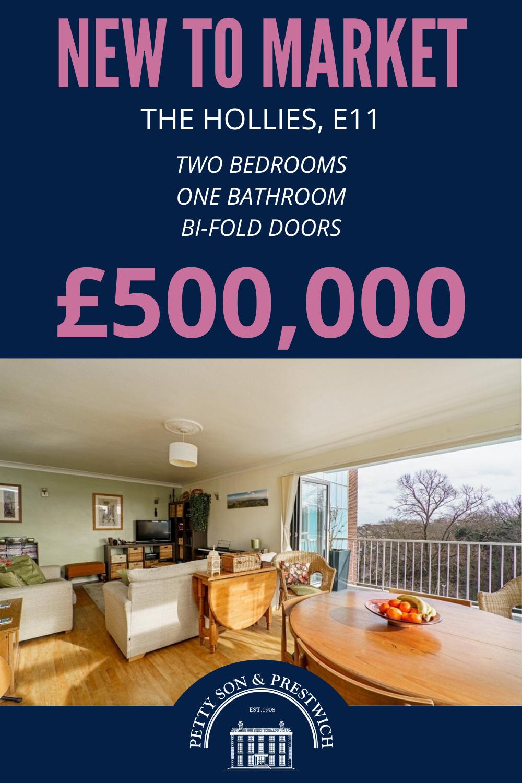 2 bedroom, 1 bathroom apartment for sale in Wanstead £