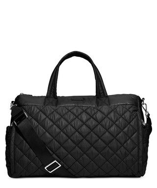 16ea5f70a1d372 Roberts large black quilted duffle bag Sale - Michael Kors Sale ...
