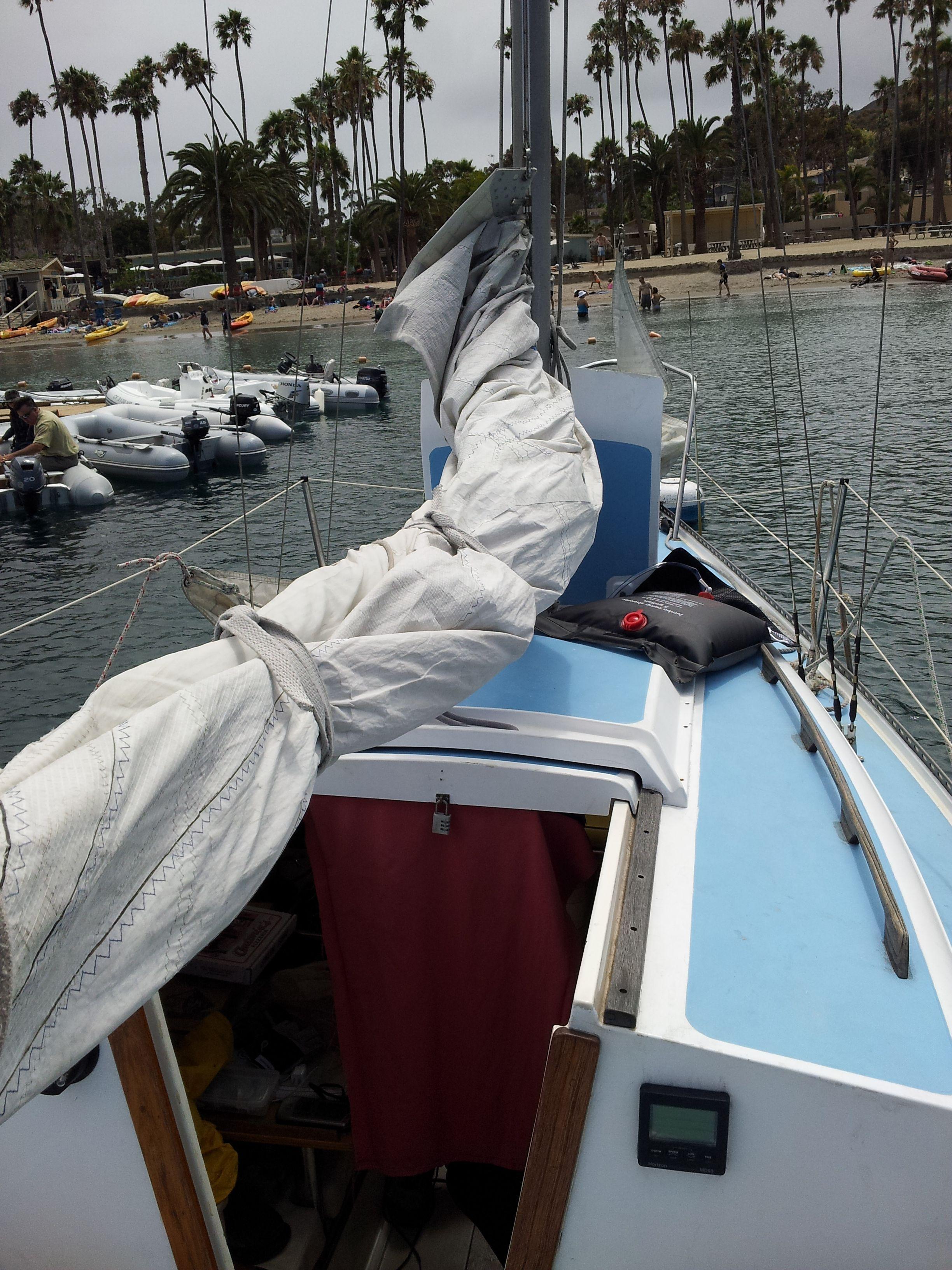 At the isthmus catalina island ca sailboat design