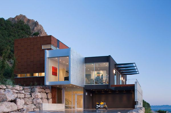 admirable modern architecture in salt lake city h house - City Home Design