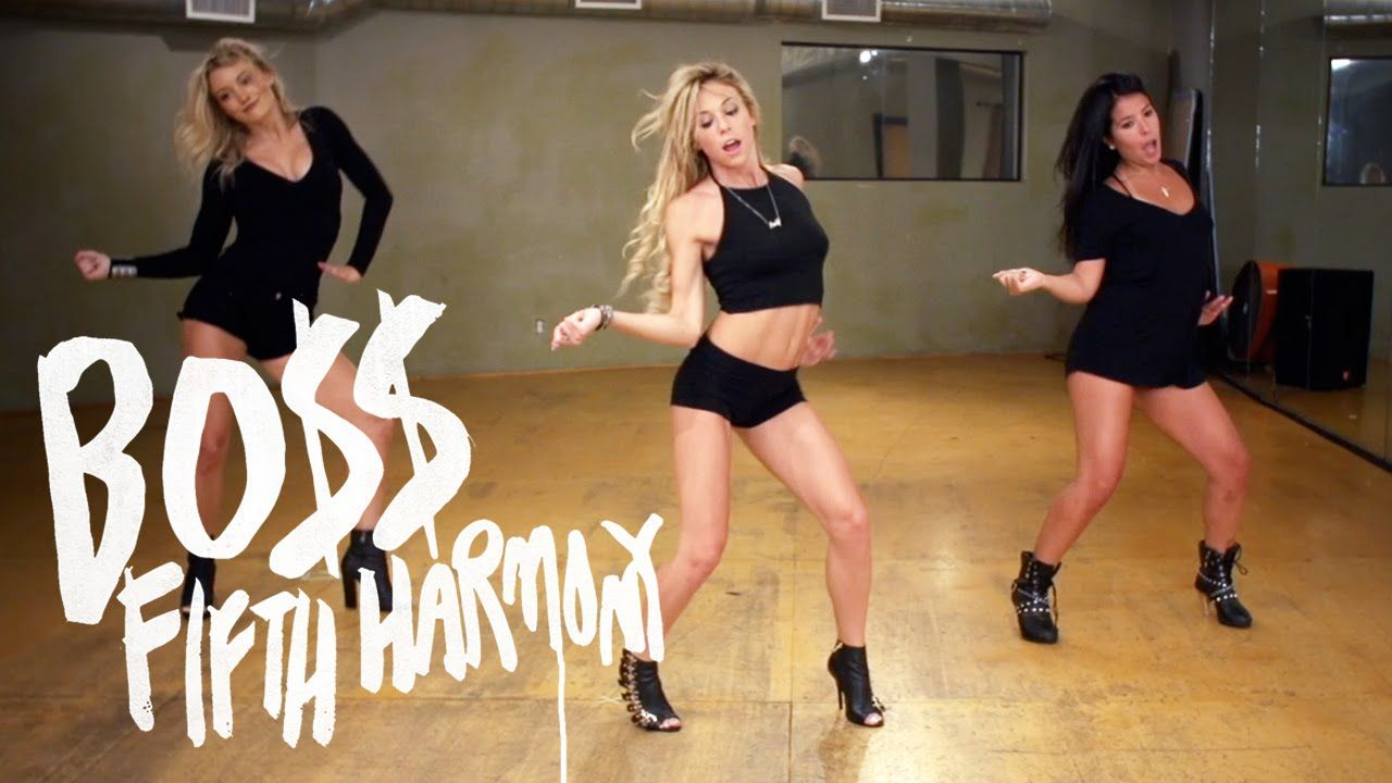 A step by step choreography breakdown of the fifth harmony boss dance tutorial fifth harmony boss mandy jiroux baditri Images