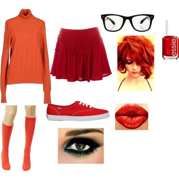 Velma Costume  by emaliemay on Polyvore  sc 1 st  Pinterest & Velma Costume | Pinterest | Velma costume Costumes and Scooby doo ...