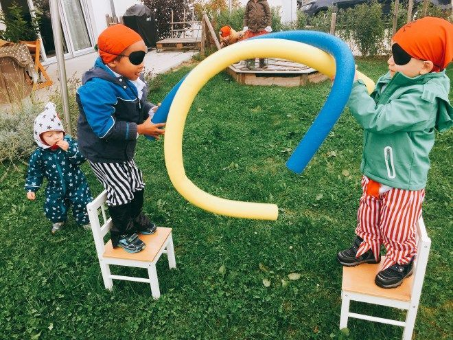 Photo of Piratenparty, Kindergeburtstagsfeier für Jungen, Motto, Schatzsuche, Spiele,