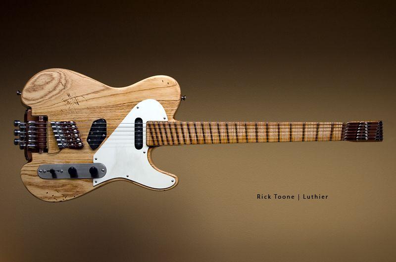 Rick Toone Luthier Luthier Guitar Guitar Guitar Design