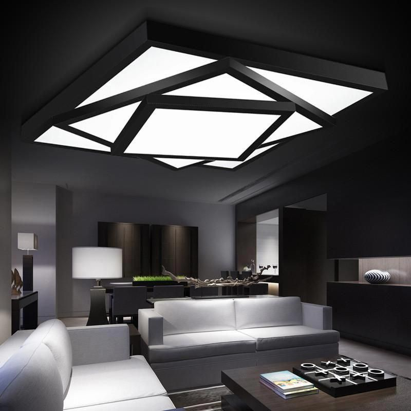 22 Cool Living Room Lighting Ideas And Ceiling Lights: Fashion Modern Led Ceiling Lights For Living Room Bedroom