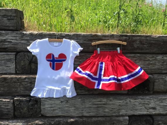 Norway Mouse Head Shirt + Coordinating Norway Flag Twirl Skirt.  6m-12yrs.  By Hoot n Hollar Childre #twirlskirt Norway Mouse Head Shirt + Coordinating Norway Flag Twirl Skirt.  6m-12yrs.  By Hoot n Hollar Childre #twirlskirt