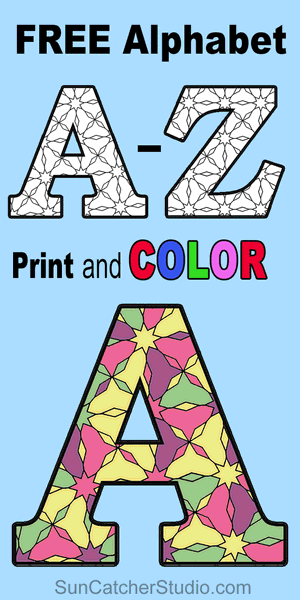 Alphabet Coloring Pages Printable Number And Letter Stencils In 2020 Alphabet Coloring Pages Free Printable Alphabet Letters Printable Alphabet Letters