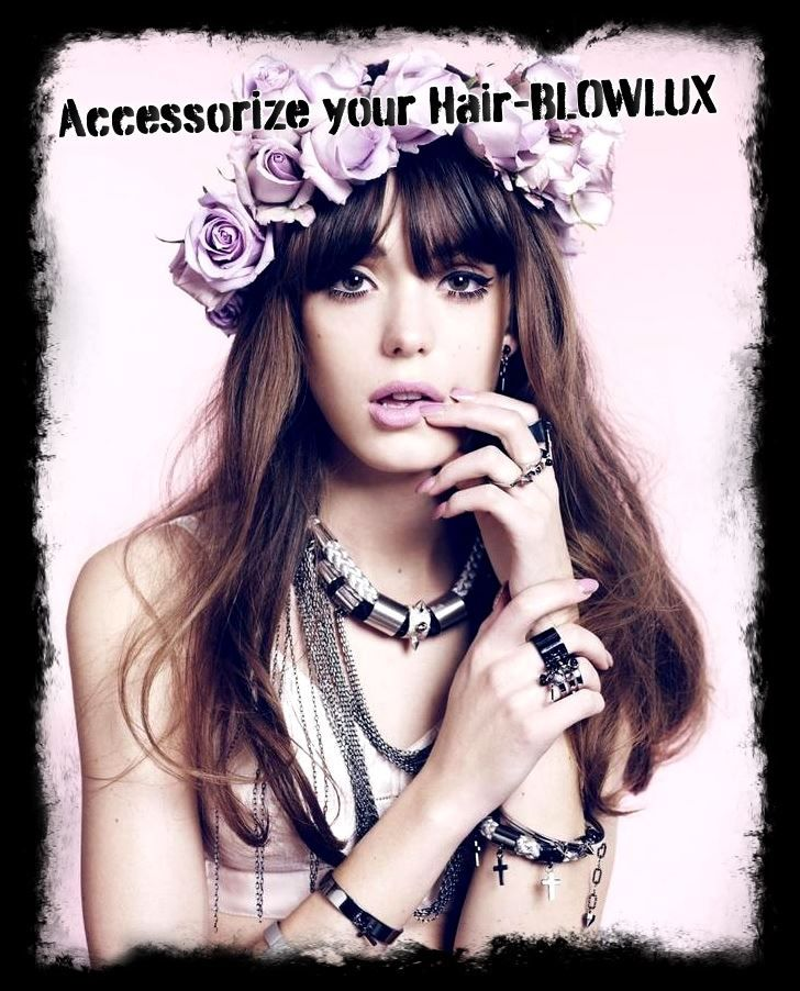 Accessorize your Hair with Veil of Roses