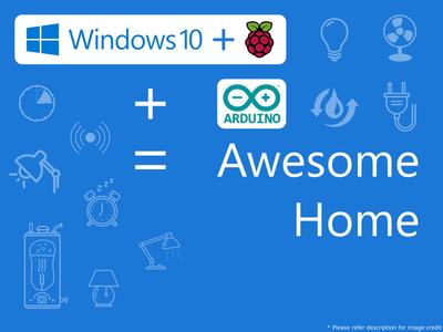 Home Automation Using Raspberry Pi 2 And Windows 10 IoT #windows10
