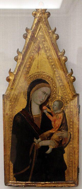 Andrea Vanni - Madonna col bambino - 1350-60 ca. - Gemäldegalerie, Berlin