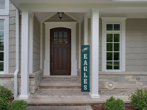 Eagles Porch Sign Philadelphia Eagles Philadelphia Eagles Outside Decor Fall Outdoor Decor Porch Signs Front Porch Signs
