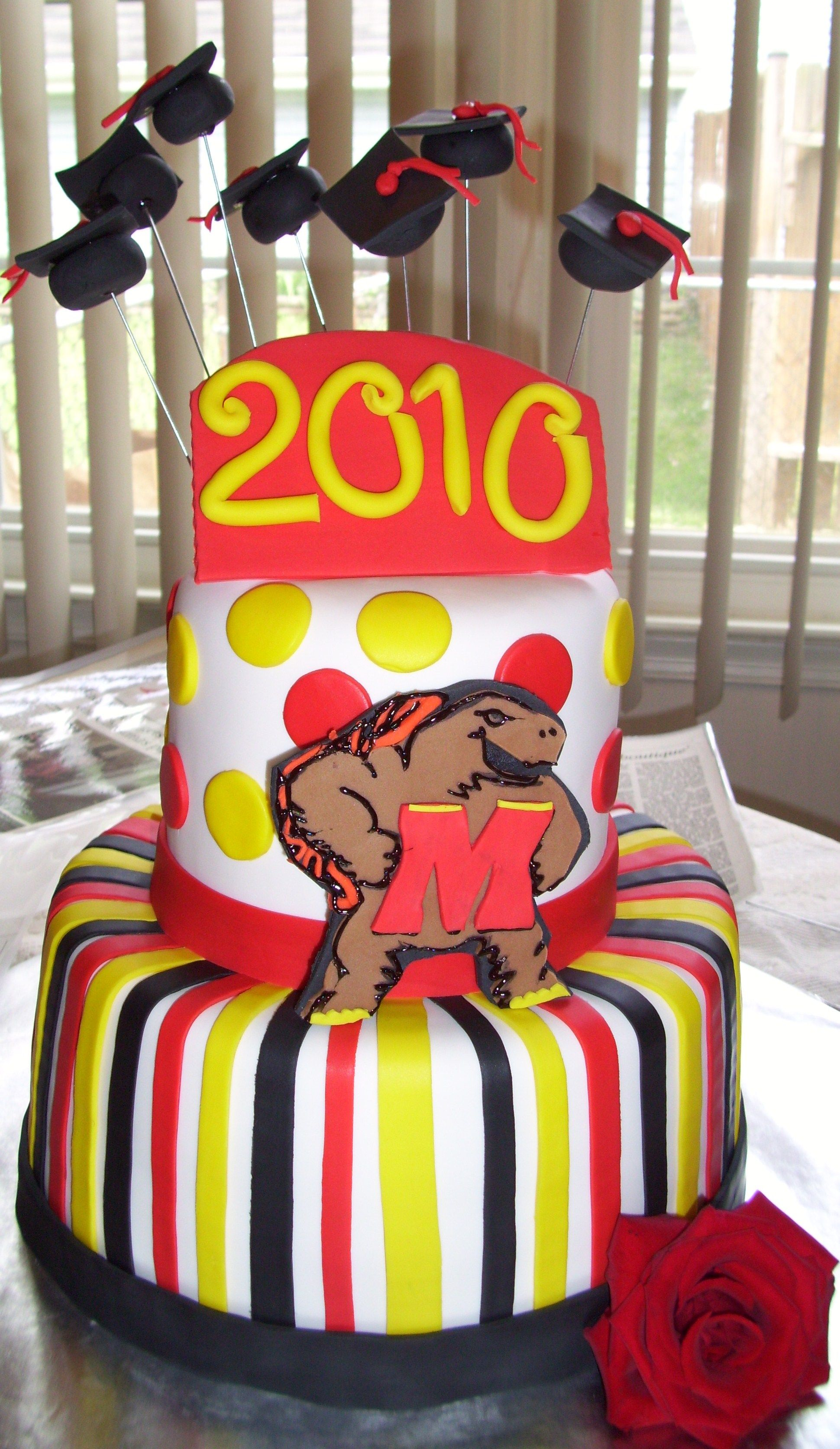 Maryland Terps Cake Footballtailgate Pinterest Maryland Cake