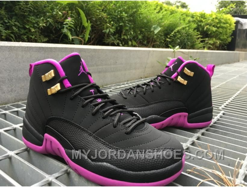 Air Jordan 12 GS Hyper Violet Purple