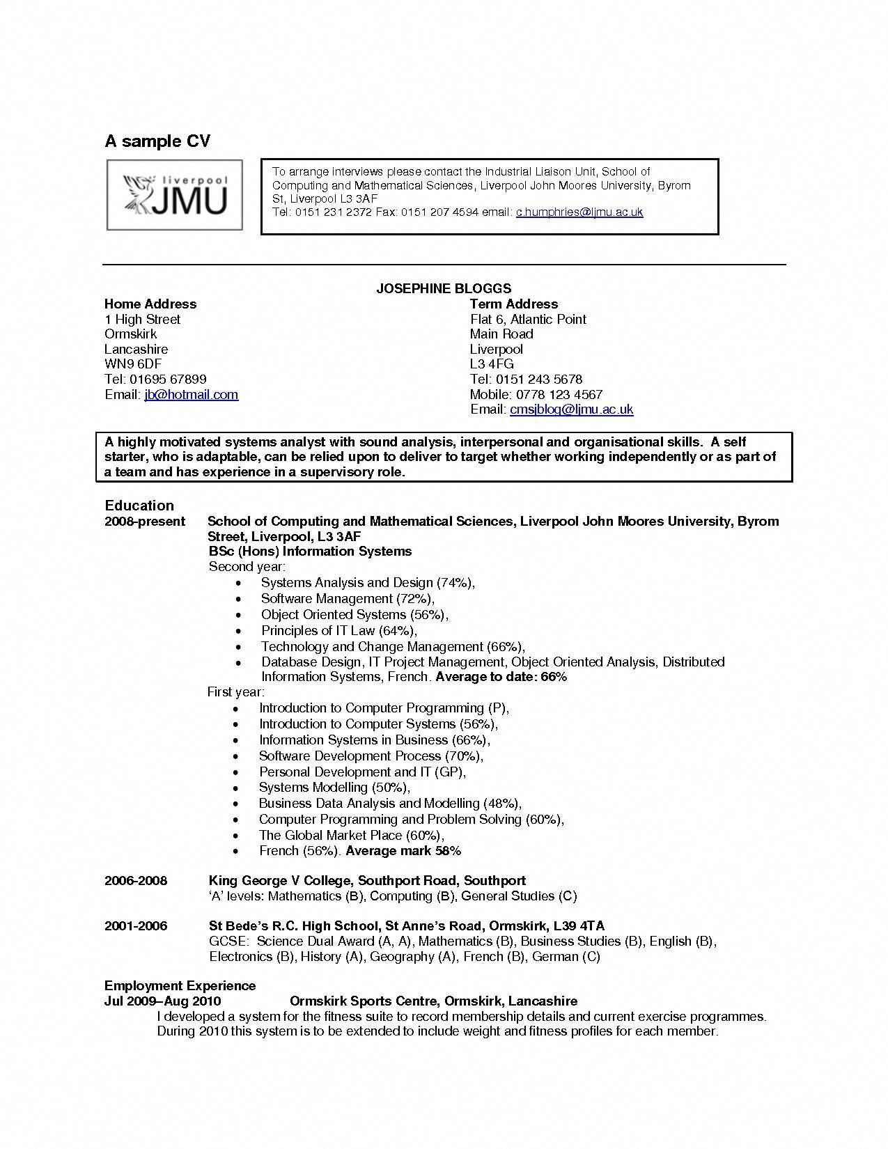 hobby cv Hobbies | Hobby World | Pinterest | Resume examples, Resume and