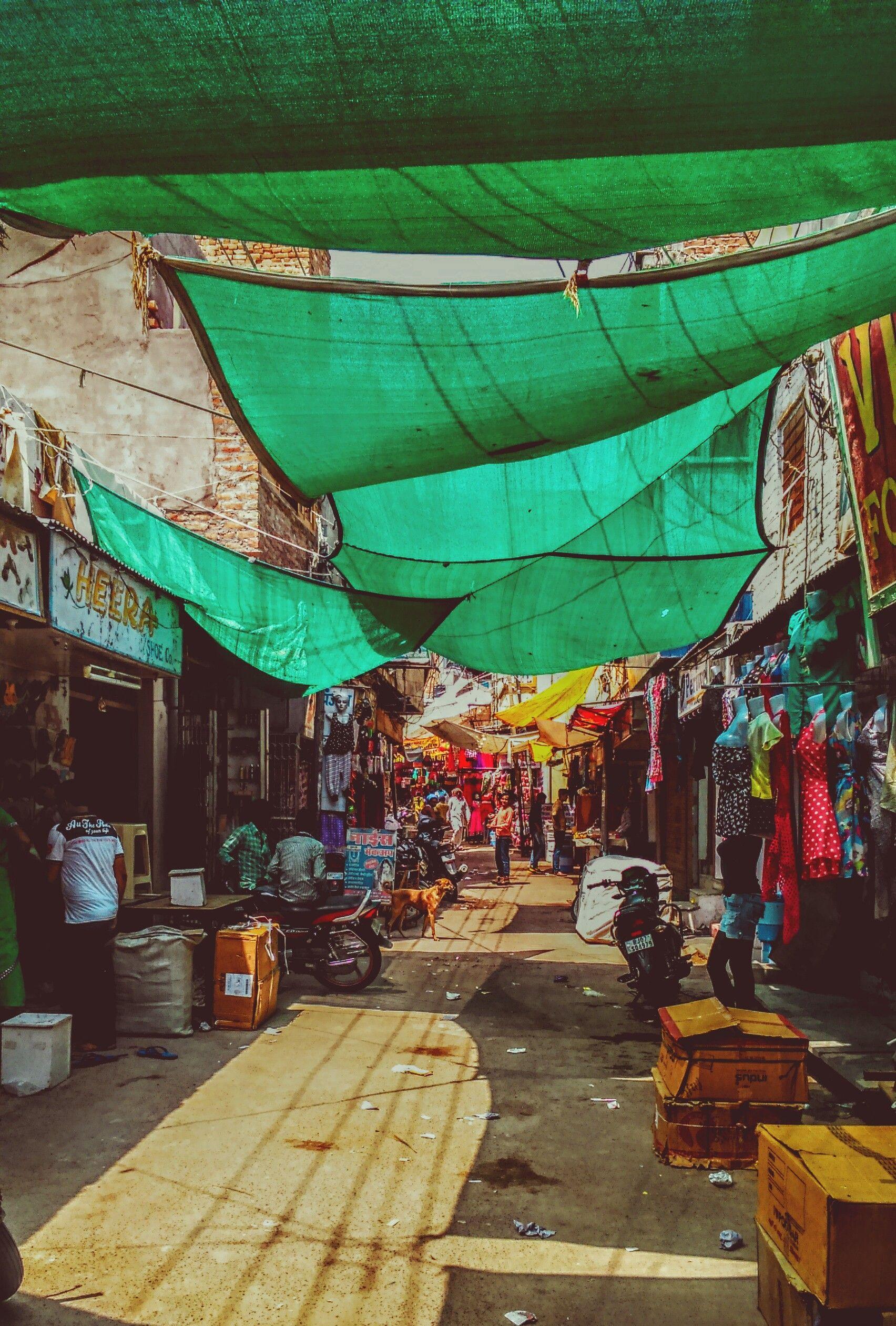 Bikaner, City Market Outdoor decor, Outdoor
