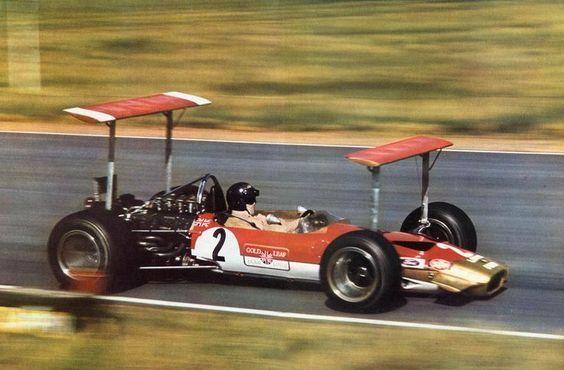 1969 Jochen Rindt Lotus 49B Ford.