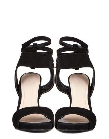 Velcro Strappy Stilettos