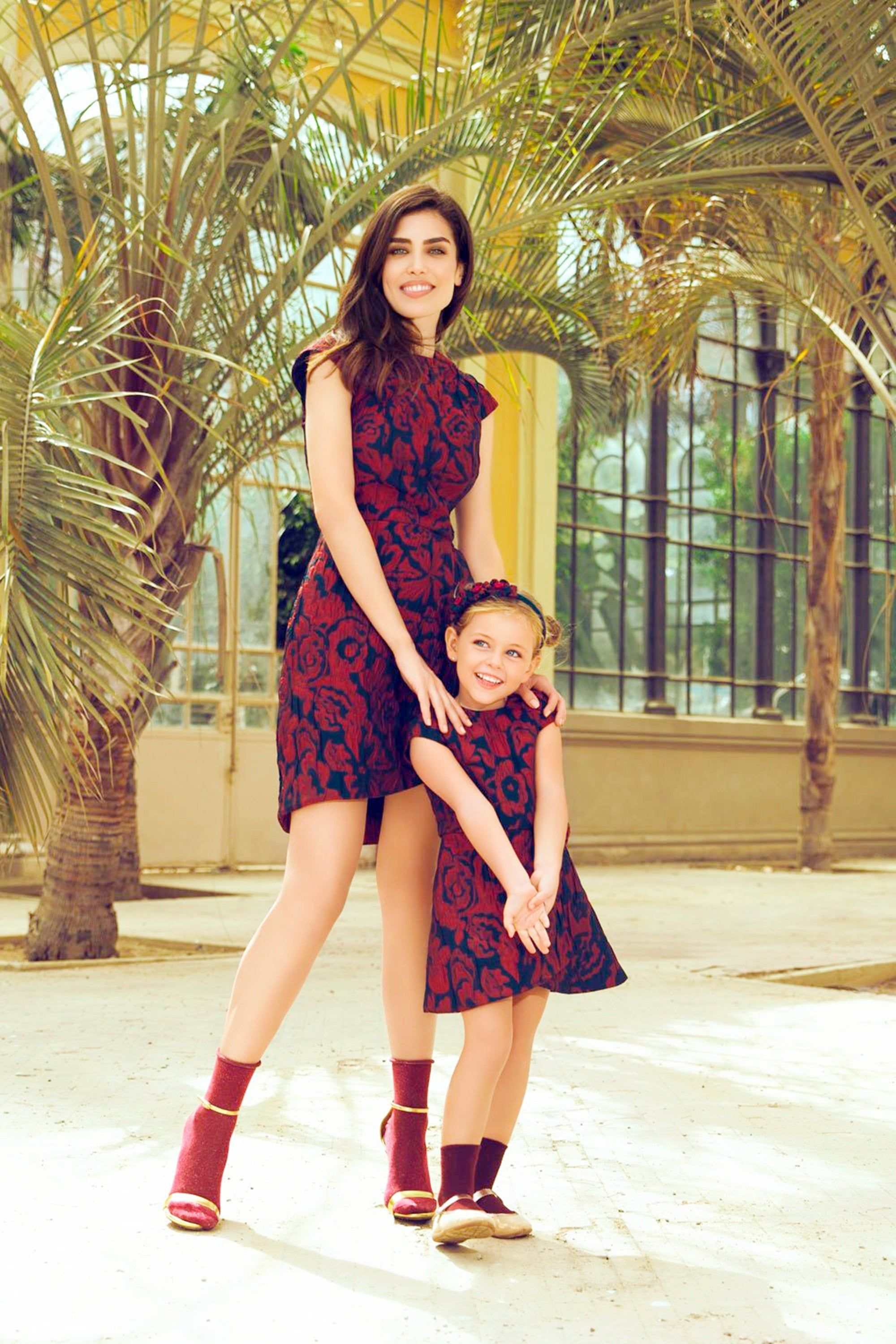 Floral mommy and me dress mommy and me outfits mother
