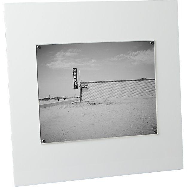 acrylic white 8x10 picture frame   8x10 picture frames, Unique ...